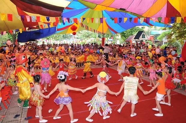 công ty tổ chức sự kiện cho trẻ em